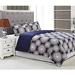 Casey by Impressions 300TC 100% Cotton Three-Piece Duvet Set