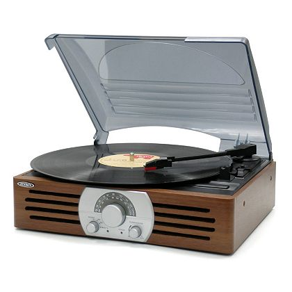 Web Exclusive Finds Items You Won't See On TV - 450-794 Jensen Three-Speed Stereo Turntable w AMFM Stereo Radio