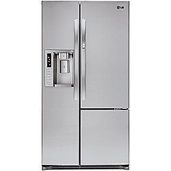 LG 26 cu ft Side-By-Side Stainless Steel Refrigerator
