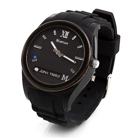Martian Notifier Smartwatch For Apple Android Mobile Devices Shophq
