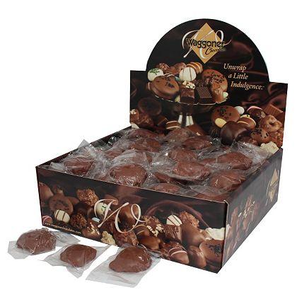 459-946 Waggoner Chocolates (4 lbs) Milk Chocolate Nut & Caramel Dainties, Individually Wrapped