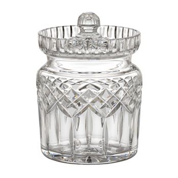 Lismore - 460-550 Waterford Crystal Lismore 6 Biscuit Barrel w Lid - 460-550