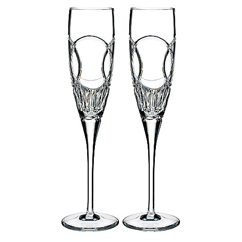 Waterford Crystal Love Choice Of 5 Oz Toasting Flute Pair Shophq