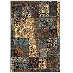 Rizzy Home Bellevue Choice of Size Power-Loomed Patchwork Rug