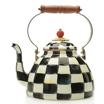 Shop All MacKenzie-Childs 467-989 MacKenzie-Childs Hand-Decorated Enamelware Tea Kettle - 467-989