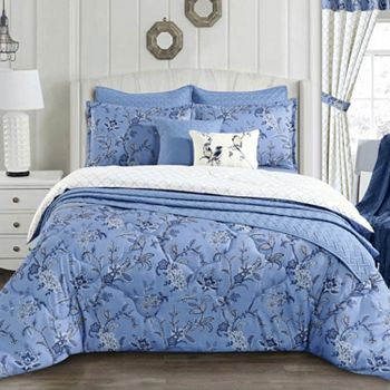 Bedding Savings Up To 65% Off - 480-038 Cozelle® Belle du Jour Microluxe™ All Season Reversible 3-Piece Comforter Set - 480-038