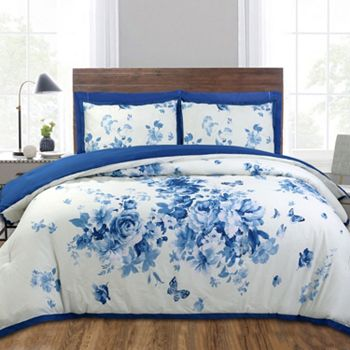 Bedding Bonanza Up To 65% Off - 481-049 North Shore Living™ Harmony 100% Cotton 3-Piece Comforter Set - 481-049