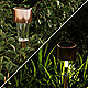 Bronze solar lights