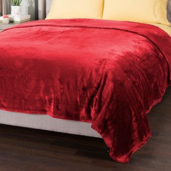 Fall Bedding Blowout 100's of Beautiful Bedding on Sale - 483-737 Cozelle® Ariana Ultra Soft Plush Knit Easy Care Blanket - 483-737
