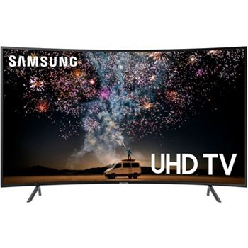 Get Game Day Ready Big Screens For Big Impact 484-122 Samsung 55 or 65 4K Ultra HD Curved LED Smart TV - 484-122