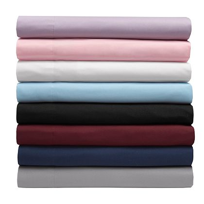 Web Exclusive Finds Items You Won't See On TV - 484-193 Elite Home Microfiber Solid 6-Piece Sheet Set