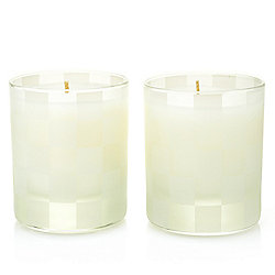 Glow Home Apothecary by MacKenzie-Childs Set of (2) 5 oz Winter Bouquet Candles
