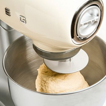 Cozy Cooking Baking Essentials, Air Fryers & More - 486-532 SMEG 600W 10-Speed Enameled Stand Mixer w 4.8-Liter Bowl - 486-532