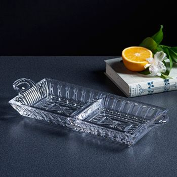 Black Friday Specials Special, Limited Time Deals 487-949 Waterford Crystal 14 O'Connell Two Part Server Tray - 487-949