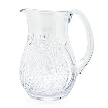 Waterford Shop New Arrivals - 487-952 Waterford Crystal 55 oz Wedge Cut Hand Finished Seahorse Pitcher - 487-952