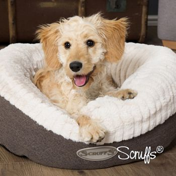 Happy National Pet Day! Celebrate With Tail Wagging Savings - 489-111 Scruffs Ellen Faux Fur Donut Dog Bed - 489-111