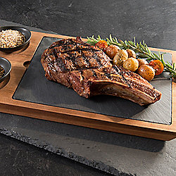 Bear Creek Cattle Grass Fed Dry Aged Set of 4 (20 oz) Bone-In Ribeye