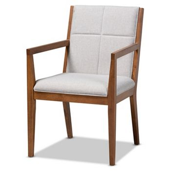 Home Last Chance On Accents Up To 60% Off - 491-299 Baxton Studio Theresa Fabric Upholstered Wood Accent Chair - 491-299