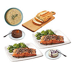 SeaBear 6-Piece Date Night at Home Complete Dinner for Two