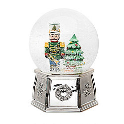 "Spode 6.5"" Nutcracker Snow Globe"