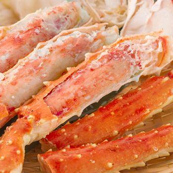 Gourmet Food Ft. SeaBear - 492-954 SeaBear Choice of 2lb or 4lb Merus Cut Golden King Crab - 492-954