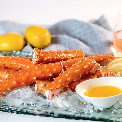 SeaBear Crab Back In Stock Limited Quantity Available - 491-595 SeaBear 2lb. Merus Cut Golden King Crab