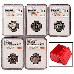 2020 National Parks Set NGC PF70 UC 1st Day of Issue Atlanta Special ANA Label