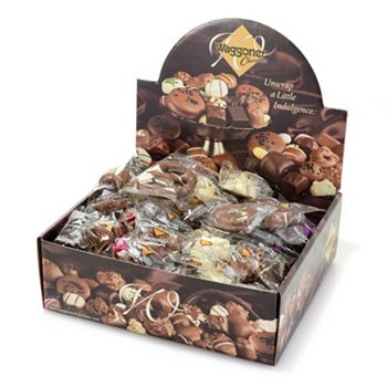 494-536 Waggoner Chocolates 4 lbs Assorted Wrapped Chocolate Chews & Clusters - 494-536