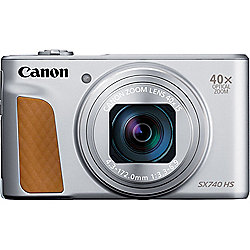 Canon PowerShot SX740 HS 20.3-Megapixel Silver Digital Camera
