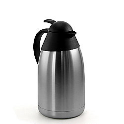 MegaChef 2L Stainless Steel Silver Thermal Beverage Carafe for Hot Beverages