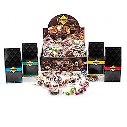 Waggoner Chocolates 5lbs Assorted Wrapped Chocolates w/ Gable Gift Boxes