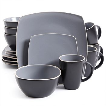 Home Last Chance On Must-Have Furnishings - 495-764 Gibson Soho Lounge Matte 16-piece Dinnerware Set - 495-764