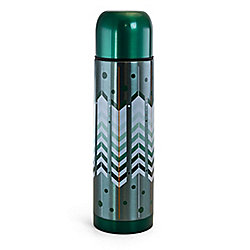 Gibson Home Cassidy Wave 2-Piece 16 Oz Stainless Steel Travel Thermal Bottles