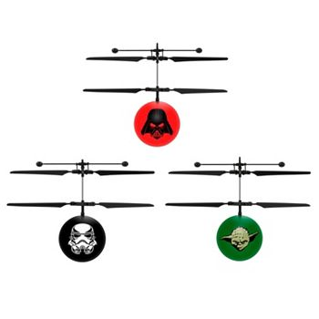 Stocking Stuffers - Tech Under $50 --   497-067 World Tech Toys Set of 3 UFO Ball Helicopter Toys - 497-067
