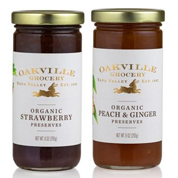 For Life-Long Friends Share Delight This Season - 497-208 Oakville Grocery Set of 2 (9oz) Summer Fruit Preserves - 497-208