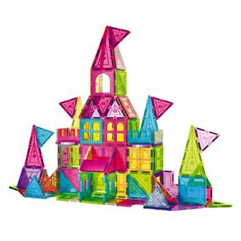 Toy Shop - 497-824 Contixo 150-Piece Magnet Building Tiles Set - 497-824