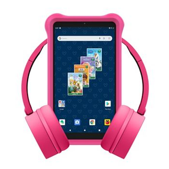 Work & Learn From Home Tools To Make Your Life Easier 498-394 Smartab 7 Android Disney® Tablet w Accessory Bundle - 498-394