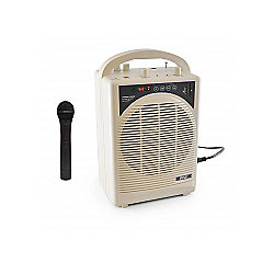 Pyle Portable Karaoke PA Speaker Amplifier & Microphone System