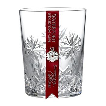 For Anyone On Your List Vases, Drinkware & Décor - 498-844 Waterford Crystal 11.5oz Snowflake Wishes Love Double Old Fashion Glass - 498-844