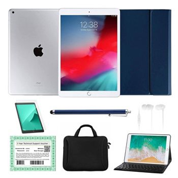 Shop Cyber Monday Limited-Time Deep Discounts - 499-446 Apple® iPad 10.2 8th Gen 32GB or 128GB Wi-Fi Tablet w Accessories & 3-Year Tech Voucher - 499-446