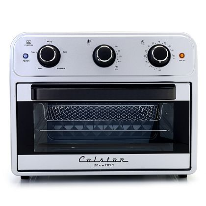 Healthy Home Ft. Small Appliances - 499-591 Colston 1800W Auto Shut Off Air Fry Oven w Accessories