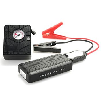 500-544 PowerPatch Jump Starter Power Bank w Air Compressor, Case & Accessories - 500-544