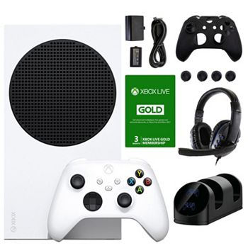 Xbox Series S Next-Gen Power For Less 501-386 Xbox Series S 512 GB All-Digital Game Console w Accessories & 3mo Live Membership Voucher - 501-386