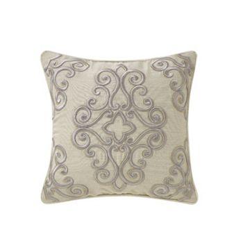 Fine Linens - 502-635 Waterford Fine Linens Wynne 16 X 16 Dec Pillow - 502-635