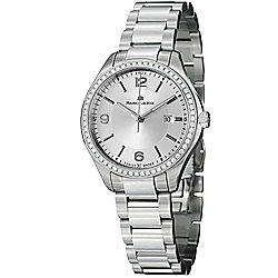Maurice Lacroix Women's Miros Swiss Made Quartz Diamond Accented Bracelet Watch