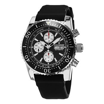 Luxury Watch Sale New Prices Valid 72 Hours - 637-258 Revue Thommen 45mm Air Speed Swiss Made Automatic Rubber Strap Watch - 637-258