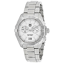 Tag Heuer 40mm Aquaracer Swiss Made Quartz Chronograph Stainless Steel Bracelet Watch
