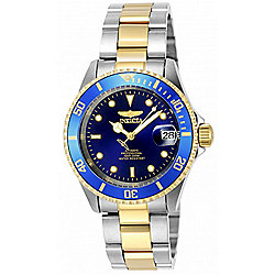 Invicta 40mm Pro Diver Automatic Stainless Steel Bracelet Watch