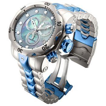 Anniversary Specials 655-614 Invicta Reserve Men's 52mm Venom Swiss Quartz Chronograph Stainless Steel Bracelet Watch - 655-614