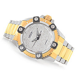"""As Is"" Invicta Reserve Men's 63mm Grand Octane Limited Edition Automatic 2.35ctw Diamond Watch"
